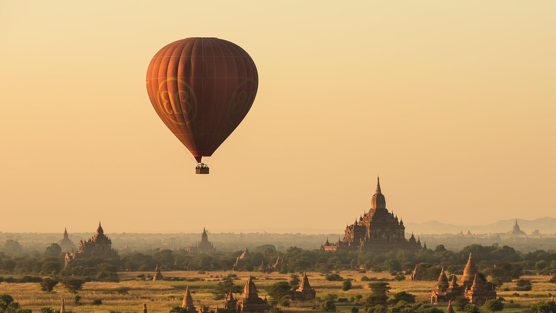 Amanecer en Myanmar