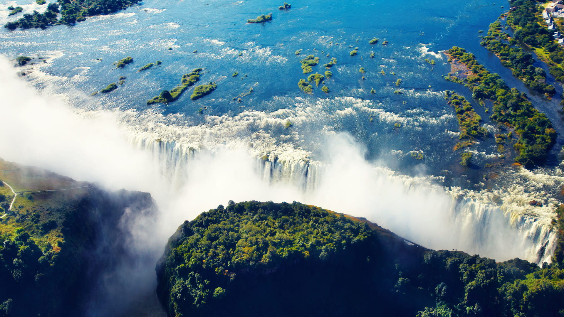 Conoce Zambia y Zimbabwe