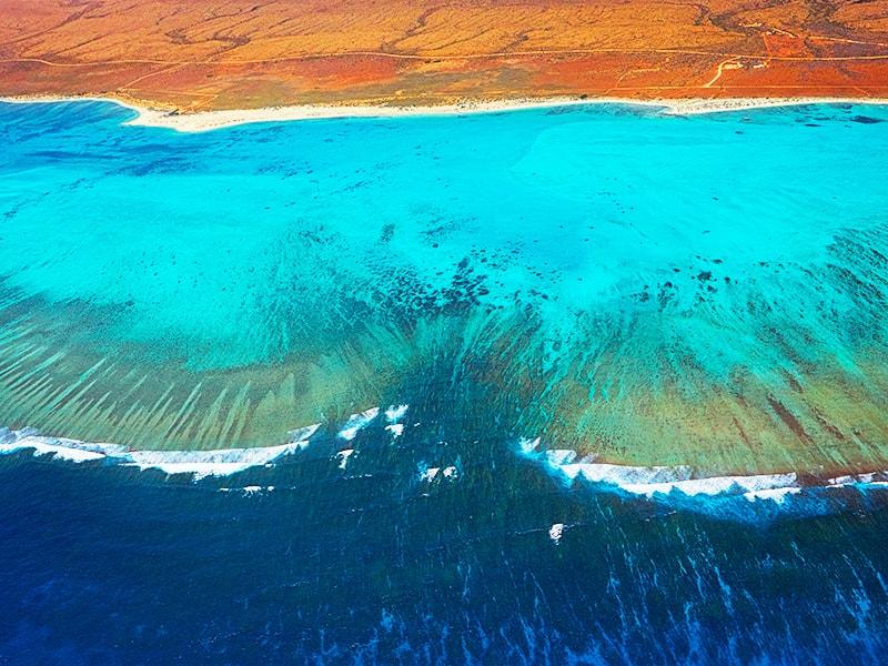 Australia. Sobrevolar en ultraligero la costa oeste del país