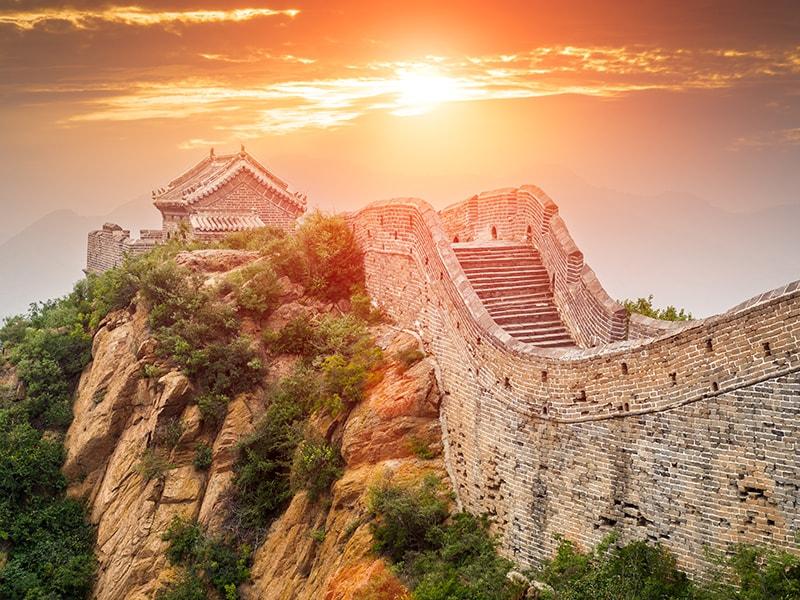 China. La Gran Muralla de Huanghuacheng