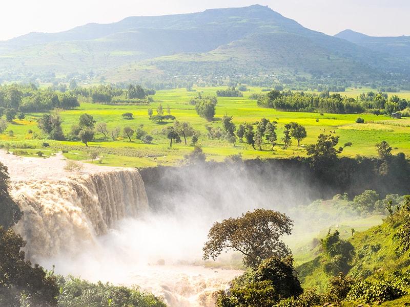 Etiopía. Ruta hasta las cascadas Tis Isat