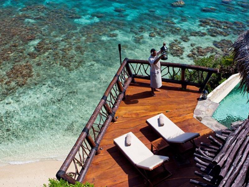 Fiji. Descansar en un exclusivo alojamiento