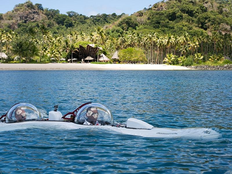 Fiji. Explorar en tu propio submarino las profunidades