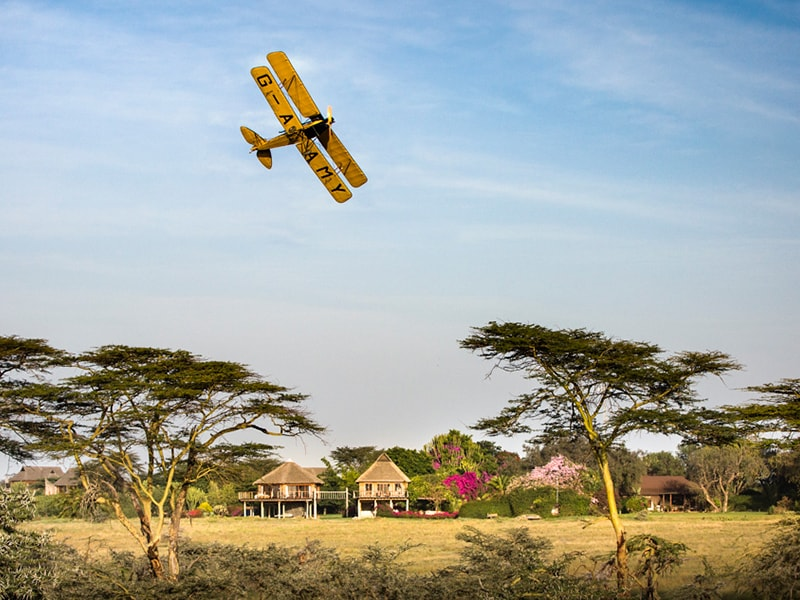 Kenia. Sobrevolar la exclusiva zona de Laikipia
