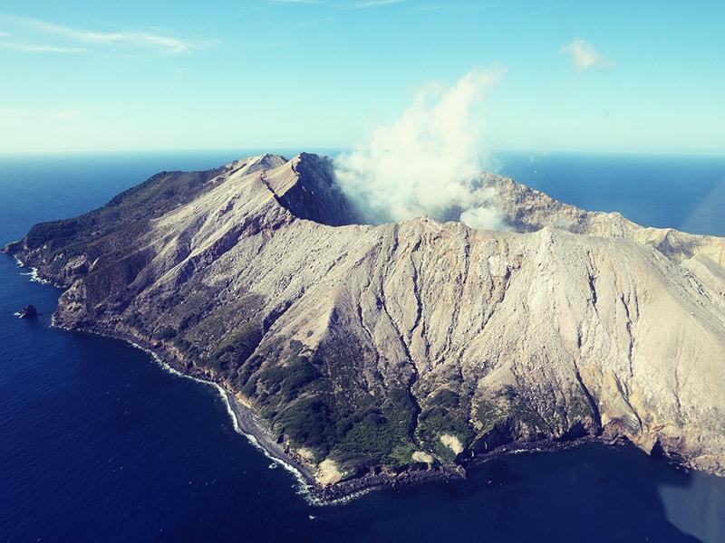 Nueva Zelanda. Sobrevolar en hidroavión White Island