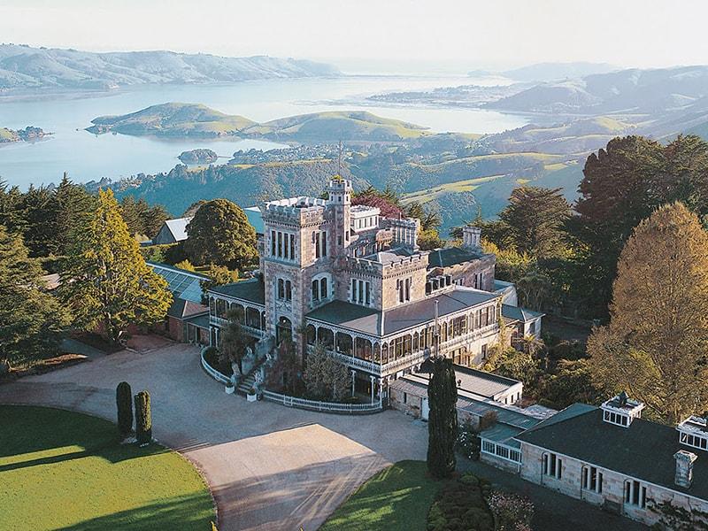 Nueva Zelanda. Descubrir en privado el único castillo de Oceanía