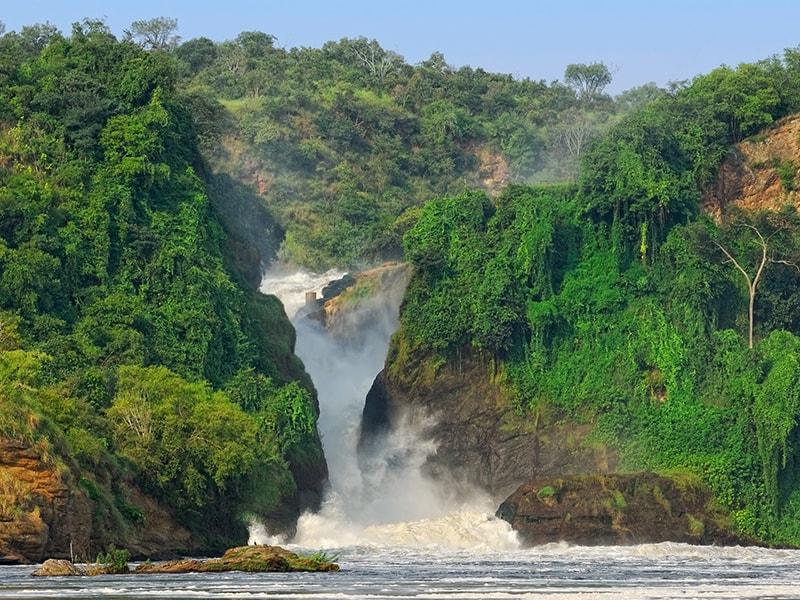 Ruanda/Uganda. Sobrevolar en globo el Parque Nacional de Murchison Falls