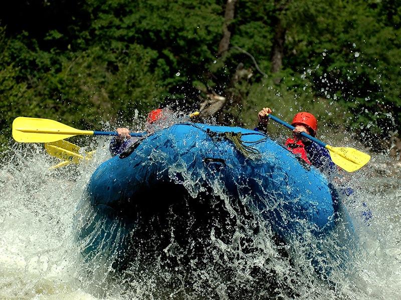 Ruanda/Uganda. Rafting en Jinja