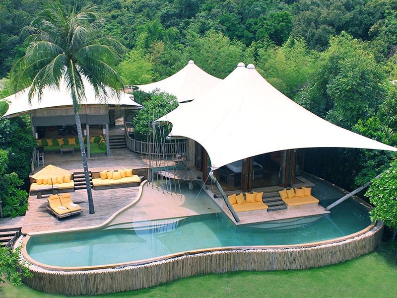 Tailandia. Relajarse en uno de los alojamientos más sostenibles del mundo