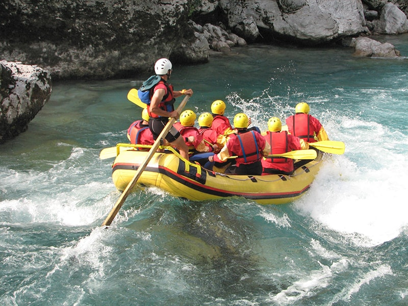 Tibet y Nepal. Rafting en familia