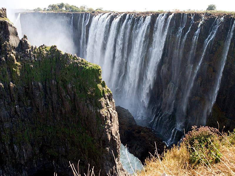 Zambia. Sobrevuelo panorámico en ultraligero