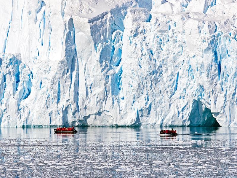 Antártida. Navegación por las Shetland del Sur