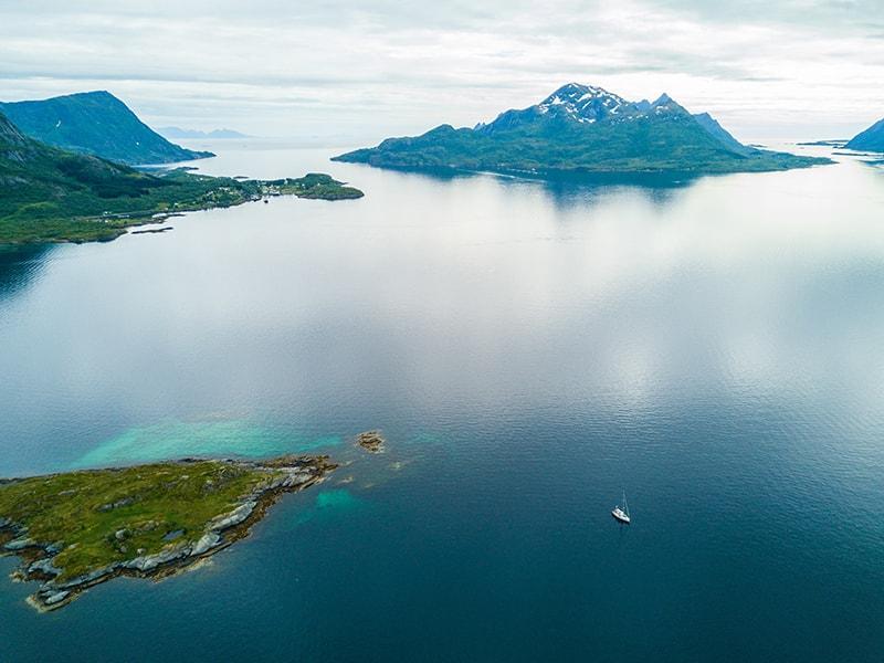 Ártico Noruego. Navegar durante una semana en velero privado