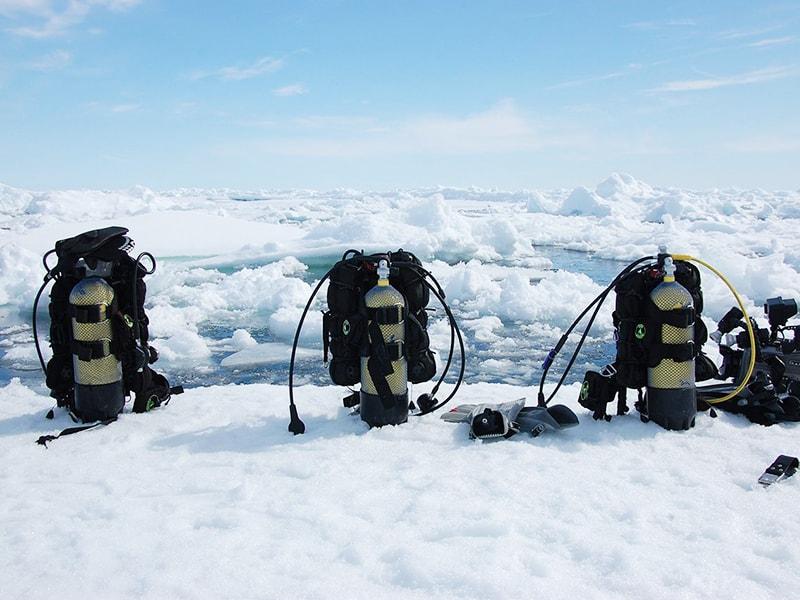 Canadá. Sumergirse en las gélidas aguas del Ártico Canadiense
