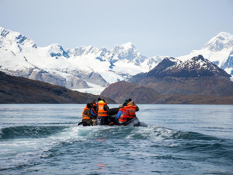 Chile. Atravesar el Canal de Beagle