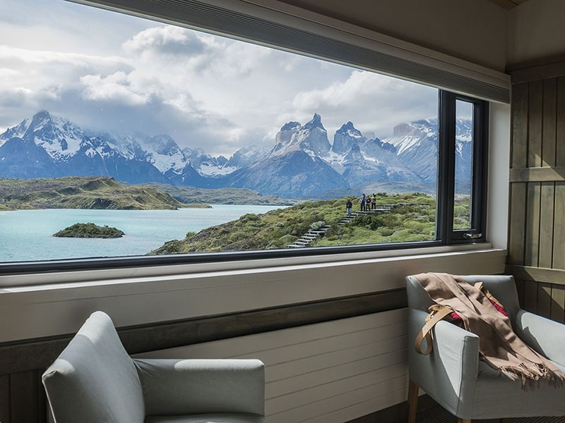 Chile. Alojamiento con vistas