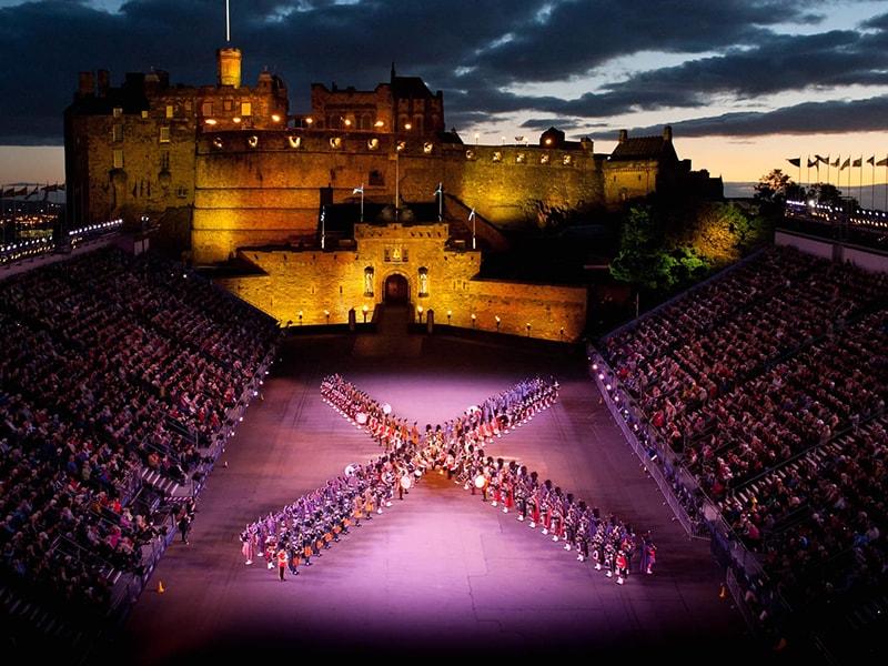 Escocia. Entrada Vip al Festival del Tattoo Militar