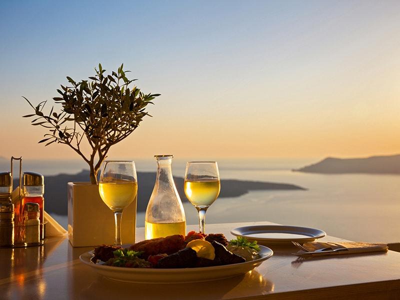 Grecia. Las bodegas de Santorini