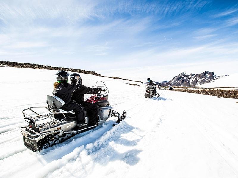 Islandia. Trekking sobre hielo